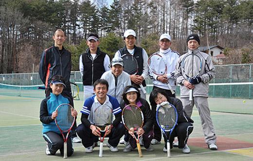 AtoZテニスキャンプ in福島県
