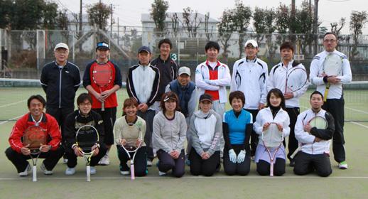KION1dayテニス道場in流山