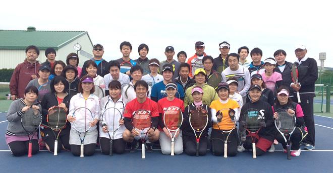 KIONテニスキャンプ終了