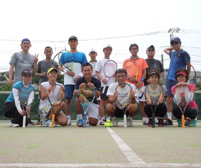 大人のための1dayテニスキャンプ無事終了