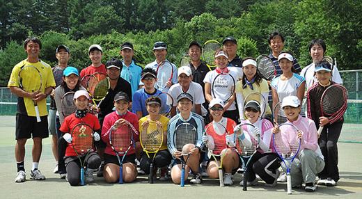 2009 AtoZテニスキャンプ in八ヶ岳高原