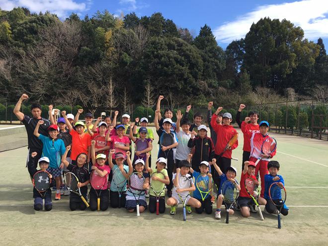 第12回KION チャレンジJr.テニスキャンプ終了
