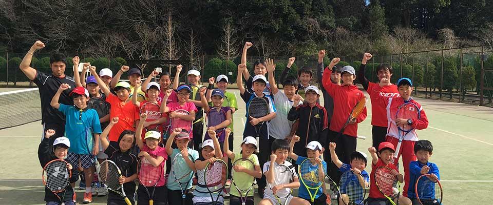 KIONジュニアテニスキャンプ
