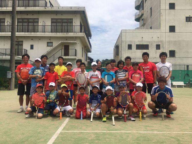 第13回KIONチャレンジJr.テニスキャンプ終了