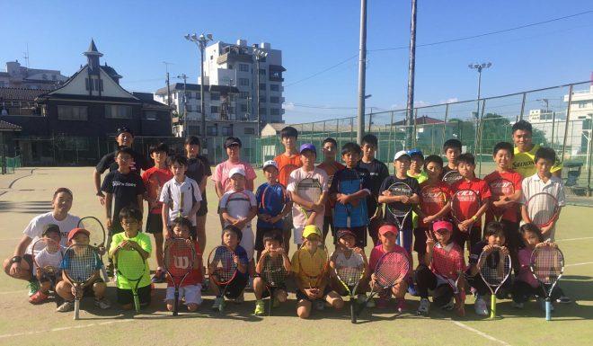 第14回 KION Jr.テニスキャンプが無事に終了