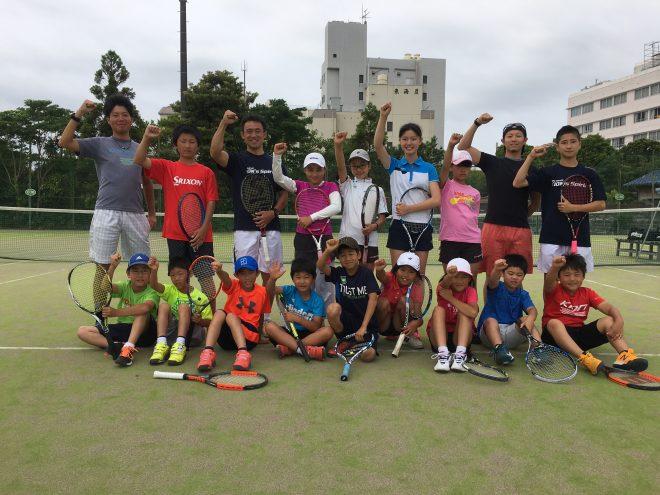第17回KION Jr.テニスキャンプが無事終了
